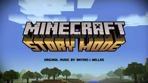 Antimo & Welles - No More Creepers (Instrumental 3) Official Minecraft Story Mode - Season 1