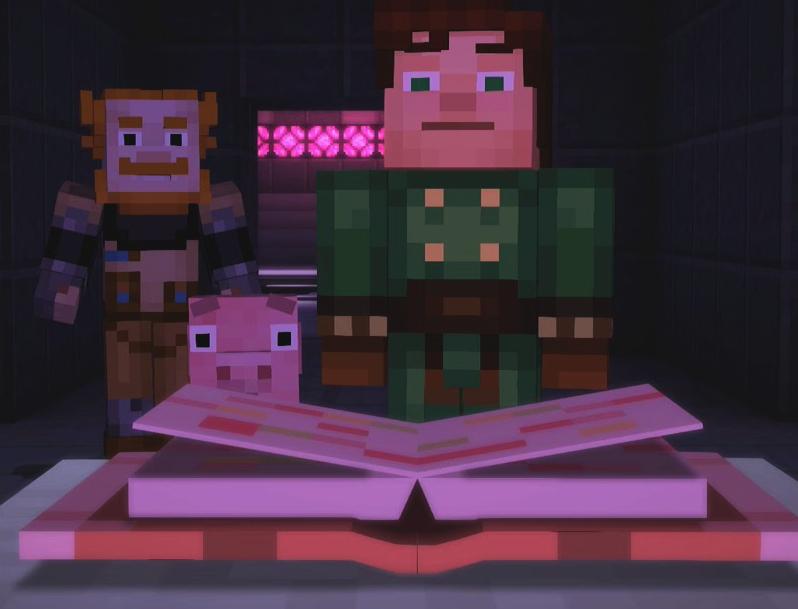 Command Block Enchanting Book | Minecraft Story Mode Wiki | FANDOM