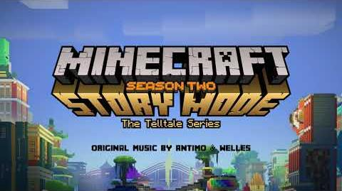 Antimo & Welles - Parrot Party Protocol Official Minecraft Story Mode - Season 2
