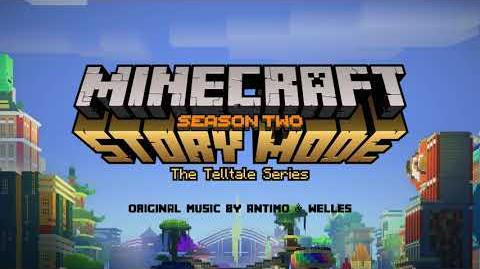 Antimo & Welles - Inside the Tower Official Minecraft Story Mode - Season 2