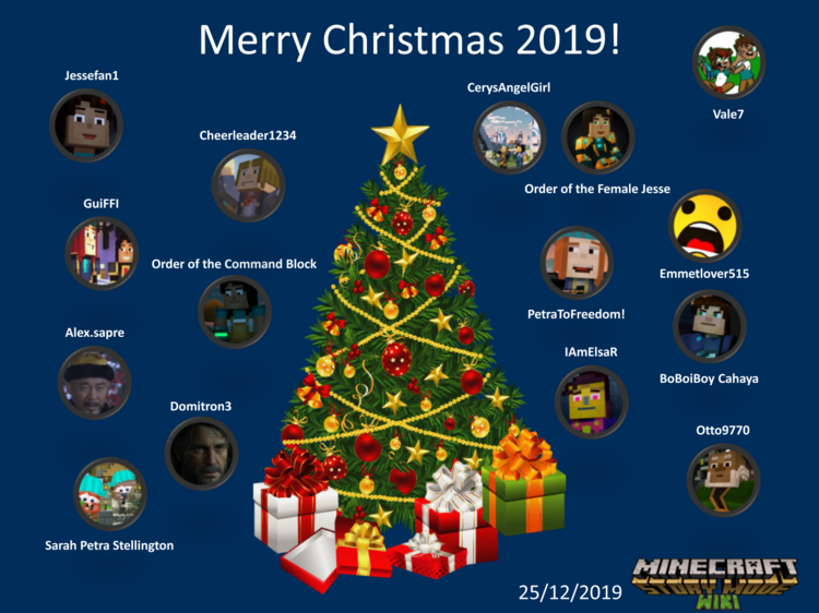 Minecraft Story Mode Wikia Merry Christmas 2019
