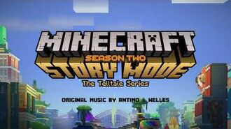 Antimo & Welles - Shooting Gallery (Final Stage) Official Minecraft Story Mode - Season 2