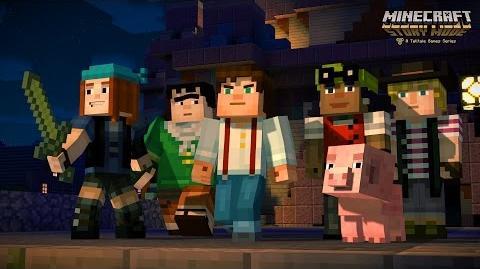 Minecraft Story Mode Trailer