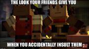 Redstone nerds meme
