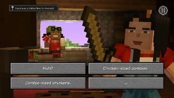 Choices Minecraft Story Mode Wiki Fandom