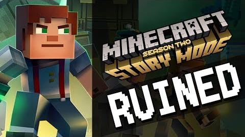 RUINED - Minecraft Story Mode Season 2 Episode 1 - Abridged Edit-0
