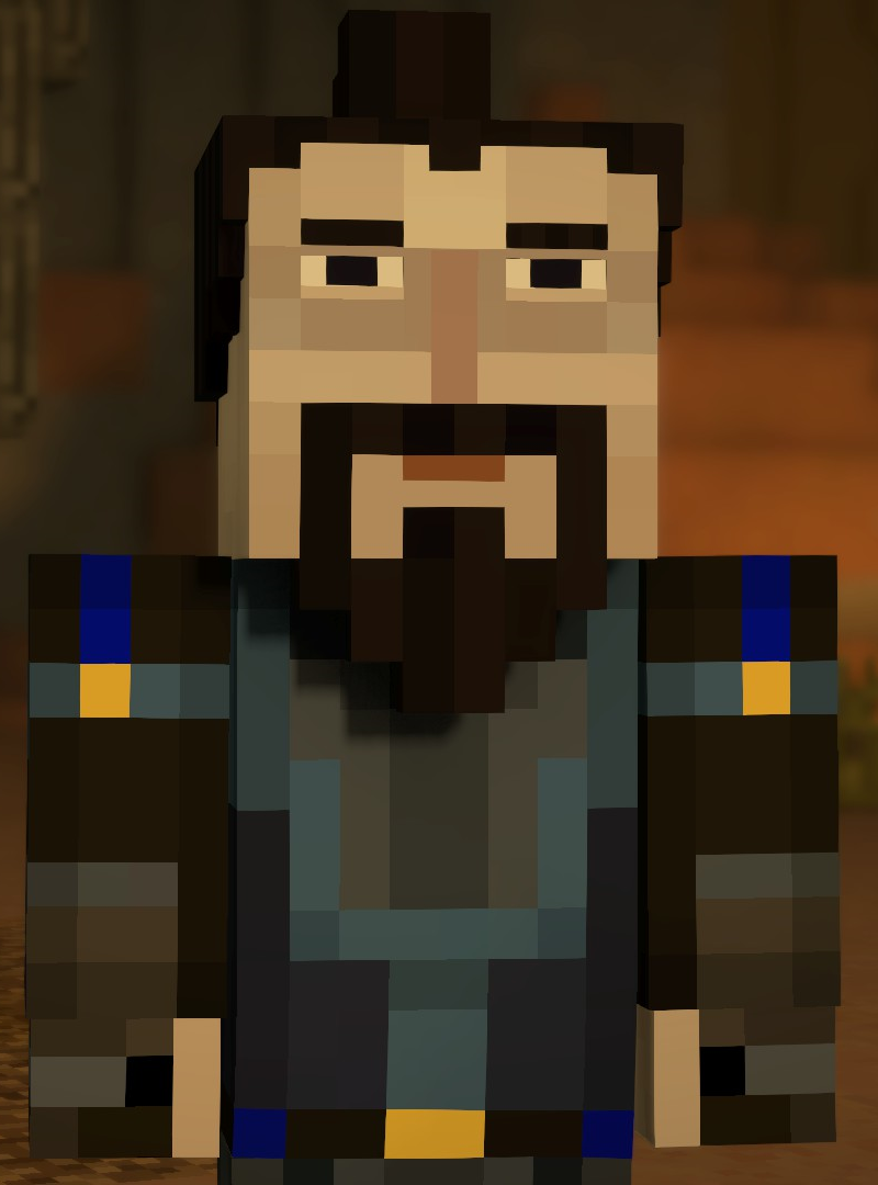 Minecraft Ivor Ninja Toko Pedz
