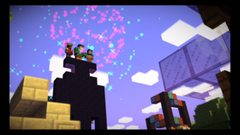 Endercon Building Competition Minecraft Story Mode Wiki Fandom