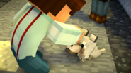 Jesse petting Wink