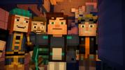 Petra, Jack, Jesse and Lukas