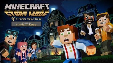 Minecraft Story Mode Episode 6 - 'A Portal to Mystery' Launch Trailer-0