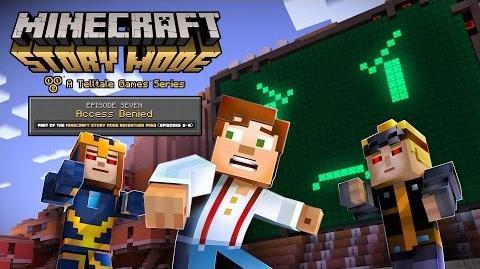 Minecraft Story Mode Episode 7 - 'Access Denied' Trailer-0