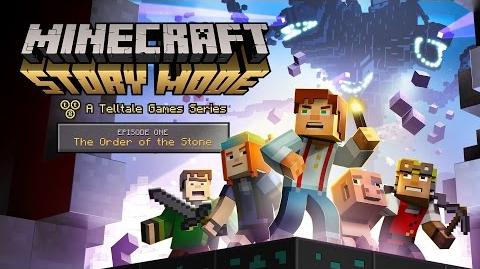 'Minecraft Story Mode' Episode 1 - 'The Order of the Stone' Trailer-0