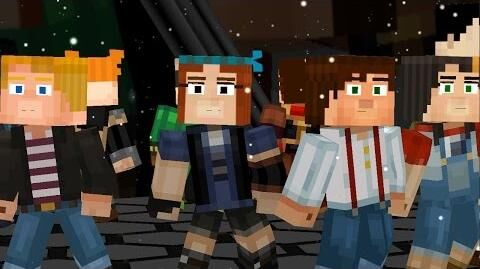 (MMD) Happy Synthesizer Minecraft Story Mode