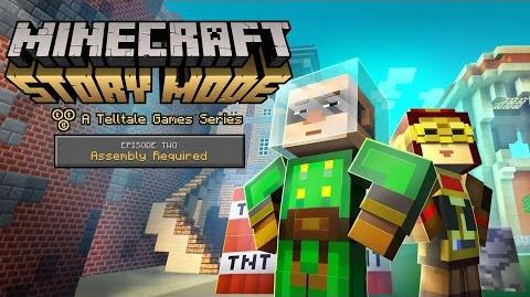 'Minecraft Story Mode' Retail & Episode 2 - 'Assembly Required' Launch Trailer