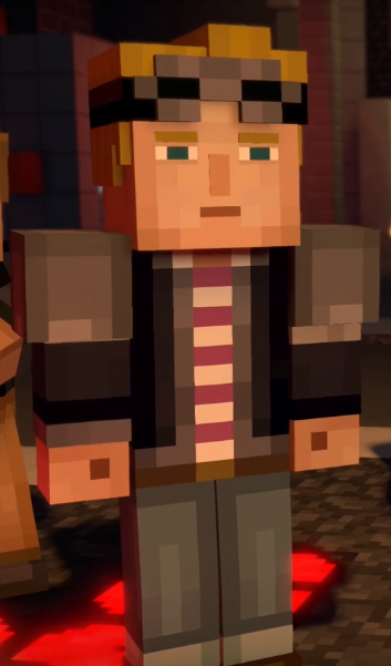 boy minecraft story mode lukas x jesse