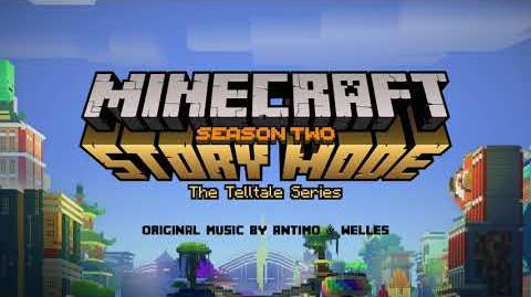 Antimo & Welles - Escape the Maze (203 Credits) Official Minecraft Story Mode - Season 2