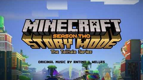 Antimo & Welles - Zombie Mine Official Minecraft Story Mode - Season 2