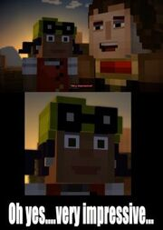 Meme Fun Thread Minecraft Story Mode Wiki Fandom