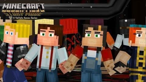 (MMD) Happy Synthesizer Minecraft Story Mode SEASON 2