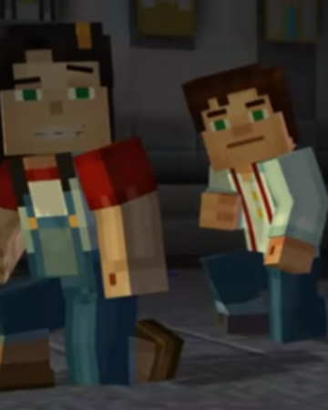 Male Jesse X Female Jesse Jessesse Minecraft Story Mode Ships