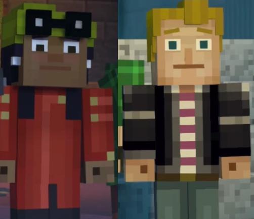 Olivia X Lukas Olivikas Minecraft Story Mode Ships Wikia Fandom