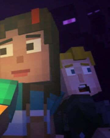 minecraft story mode lukas x female jesse