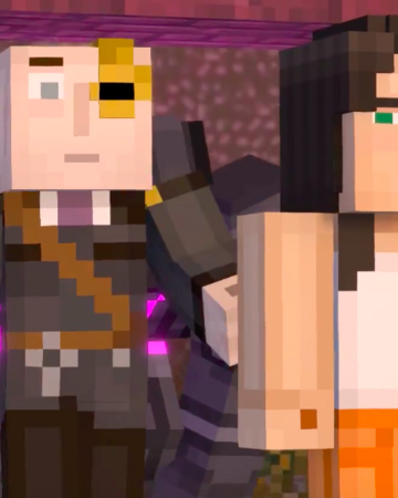 Jesse X The Warden Wardesse Minecraft Story Mode Ships Wikia