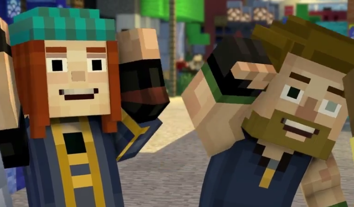 how to make jack show him his eye minecraft storymode