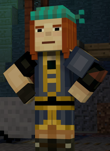 Petra Minecraft Story Mode Ships Wikia Fandom