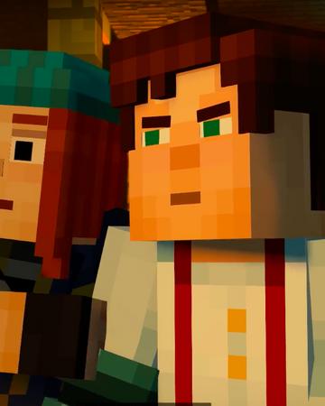 Jesse X Petra Jetra Minecraft Story Mode Ships Wikia Fandom