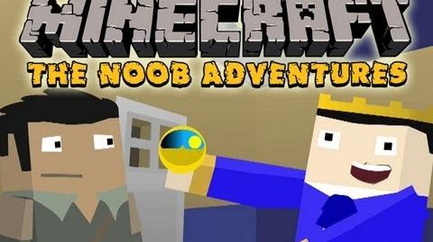 Minecraft The N00b Adventures (Happy Hour) - Part 15 Smoke and Mirrors
