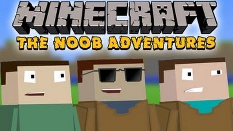 Minecraft The N00b Adventures - The Village People
