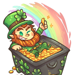Official Artwork for St Patric Chest