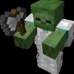 Iron Axe Iron Armor Zombie