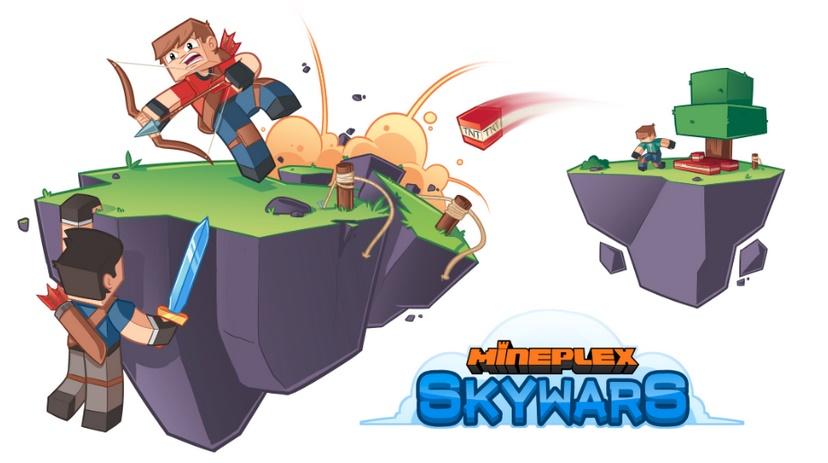 SkyWars Mineplex Wiki FANDOM Powered By Wikia - Minecraft skywars spiele