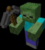 Stone Pickaxe Zombie