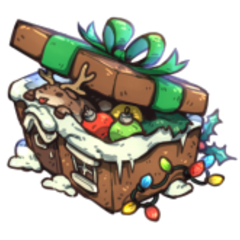 Official Artwork for Gingerbread Chest