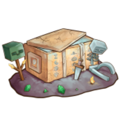 The official artwork for Ancient Chests.