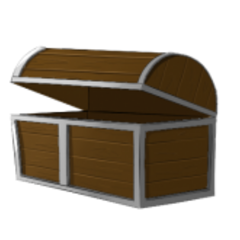 Former official artwork for Old Chests.