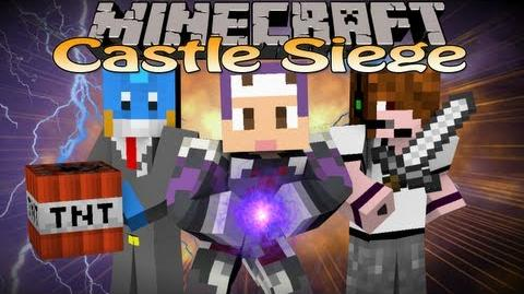 Minecraft Mini-Game Castle Siege w Deadlox & HuskyMudkipz