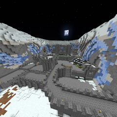 The front view of Icebound Valley.