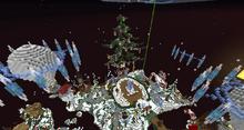 Mineplex Christmas Lobby 2016