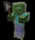 Chain Armor Iron Axe Zombie
