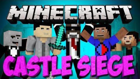"""Minecraft NEW """"CASTLE SIEGE Mulitiplayer Server"""" Minigame"""