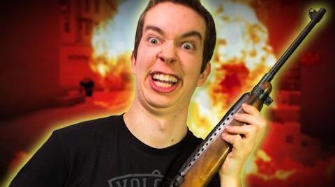 """GUNS IN MINECRAFT!"" MineStrike CS GO Mini-game"