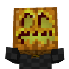 Pumpkin Kings Head