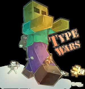 Type Wars logo