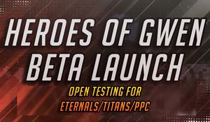 Heroes of Gwen beta