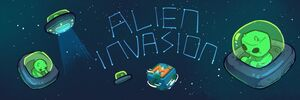 Alien Invasion Banner